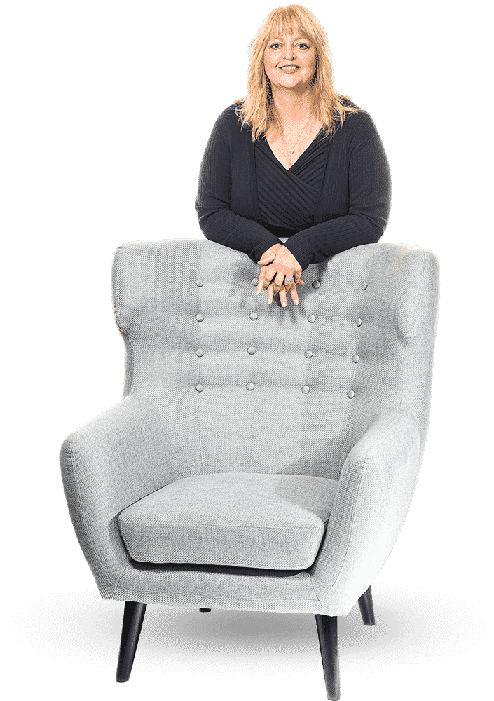 Wendy with chair